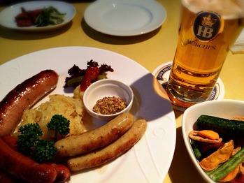 ドイツ料理のお店ビストロサトウの料理