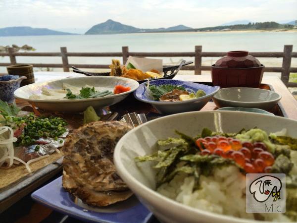 糸島の食事処 魚庄