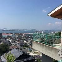 関門海峡が一望できるレストラン東の丘