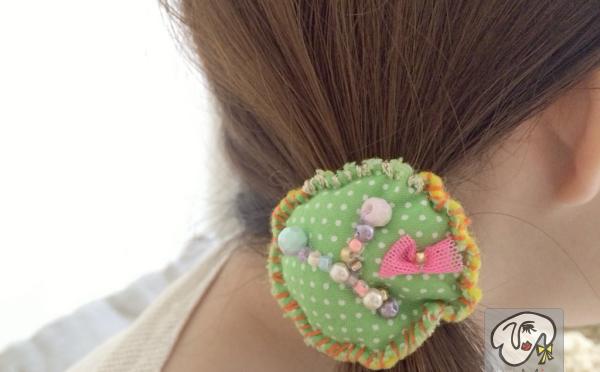 春らしくて可愛いヘアーアクセサリー